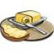 Ножи для масла из серебра