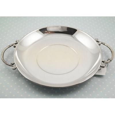 Серебряное детское блюдце. арт. 925-5-185БЛ05001