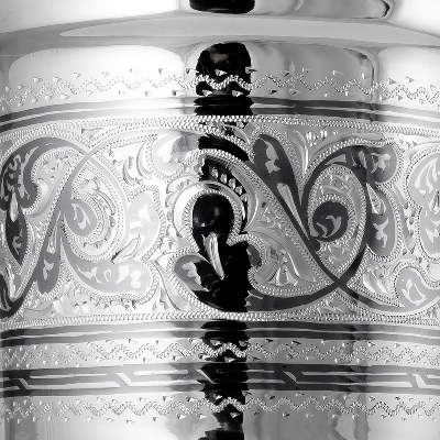 Кружка серебряная. 875 проба. арт. 875-0136(7)