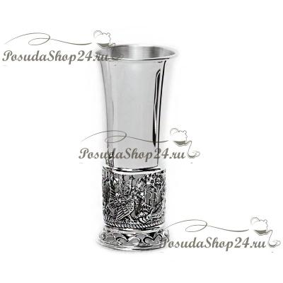Серебряная стопка «ГЛУХАРИ» арт. 925-5-265СТ00001