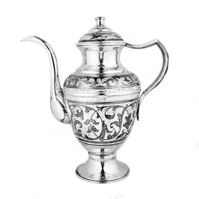Серебряный кофейник «Кибела». Серебро 875. арт. 875-1715