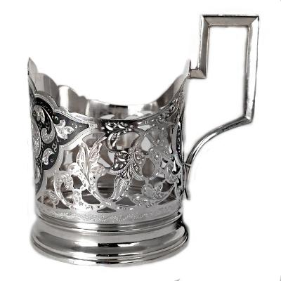 Серебряный подстаканниксо стаканом. арт. 875-0031(25)