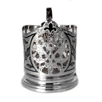 Серебряный подстаканниксо стаканом. арт. 875-0031(27)