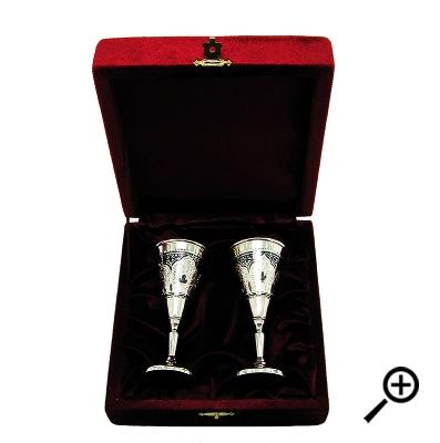 Серебряная рюмка «ЛИЛИТ».  арт. 875-2-0222(2)