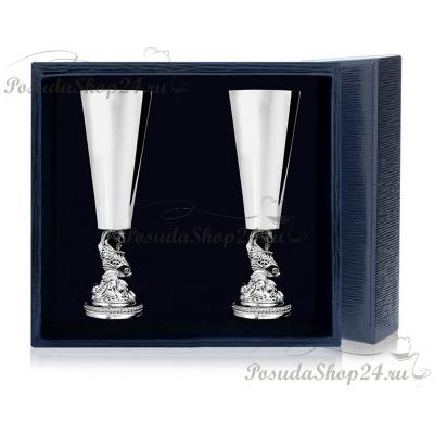 Серебряная рюмка « РЫБКА». арт. 925-5-577РМ00801