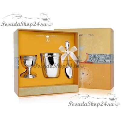Набор серебра для завтрака «Император». арт. 925-5-РИ32НБ13801