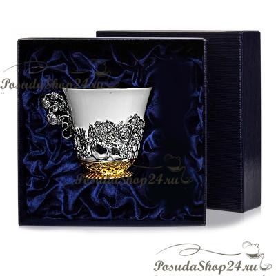 Позолоченая серебряная чашка «НАТЮРМОРТ» арт. 925-5-794НБ03811