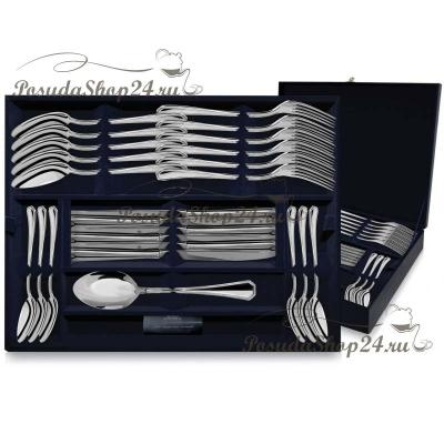 """Столовый набор из серебра """"ЭЛЕГАНТ"""" из 24 предметов. арт. 925-5-128ЛЖ01001"""