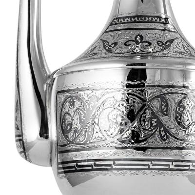 """Серебряный кувшин для коньяка """"Витэ"""". Серебро 875. арт. 875-0169(1)"""