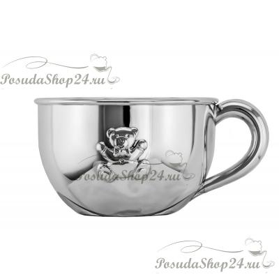 Серебряная кружка для молока. арт. 925-5-Z3457-1