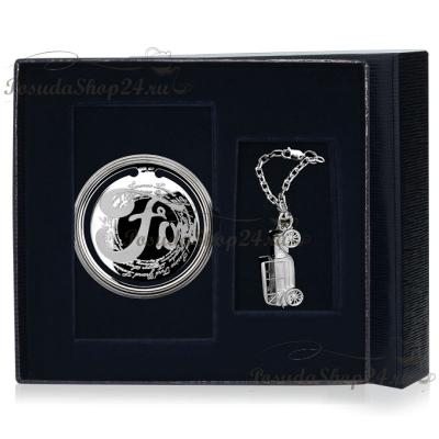 """Подарочный набор из серебра """"ФОРД"""" арт. 925-5-295ЗК22001(нб)"""