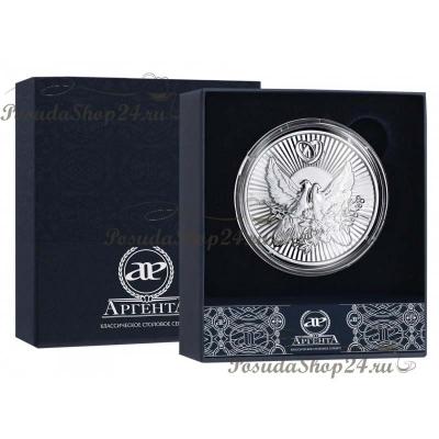 """Серебряная монета """"СОВЕТ да ЛЮБОВЬ"""". арт. 925-5-1160СВ00001"""