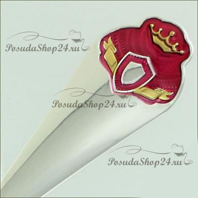 Набор из серебра с кружкой или поильником «ПРИНЦЕССА». арт. 925-5-475ПЛ05008