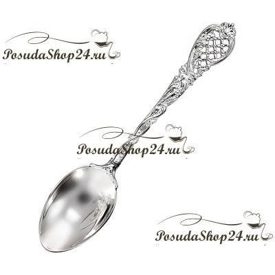 Серебряная чайная ложка «БАРОККО». арт. 925-5-815ЛЖ03006
