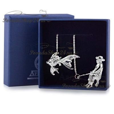 Серебряный ионизатор воды «РЫБАК». арт. 925-5-780ИЗ00001