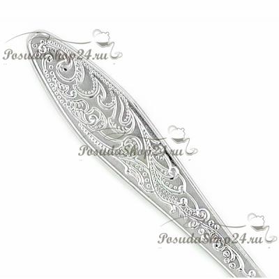 Серебряная десертная вилка «МОРОЗКО». арт. 925-5-039ВЛ02001