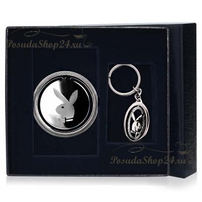 Подарочный набориз серебра «PLAYBOY».арт. 925-5-290ЗК22001(н)