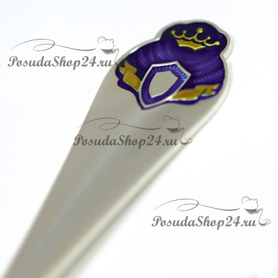 Набор серебра для мальчика «ПРИНЦ». арт. 925-5-445ЛЖ05008/1GI0231