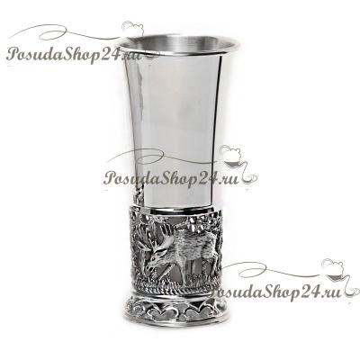 Серебряная стопка «ЛОСИ» арт. 925-5-410СТ00001
