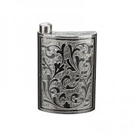 Серебряная фляга «Фарфалла». арт. 875-0001