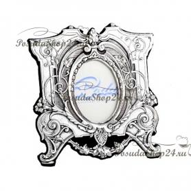 """Серебряная рамка для фотографии """"ЭЛИТА"""". 4 x 5 см. арт. 925-10-0070831/A"""