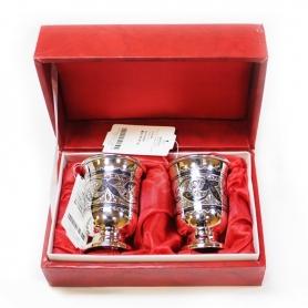 Серебряная стопка из серебра. арт. 875-2-0104