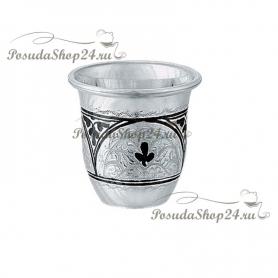 Серебряная стопка «ОГОНЕК». Серебро 875. арт. 875-2-0105