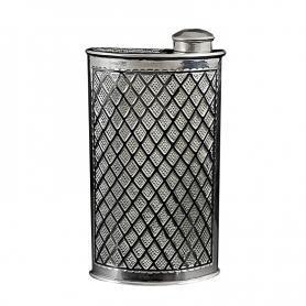 Серебряная фляга «ГРАНИ». арт. 875-0109(10)