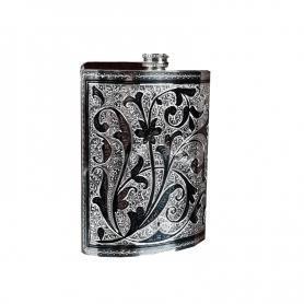 Фляга серебряная «ЧИНГИЛ». арт. 875-0109(60)