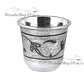 Серебряная стопка. Ручная работа. арт. 875-2-0120