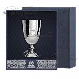 Серебряная кованая рюмка №1. арт. 925-5-026РМ00001