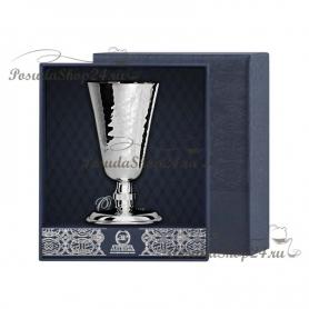 Серебряная кованая рюмка №4. арт. 925-5-029РМ00001