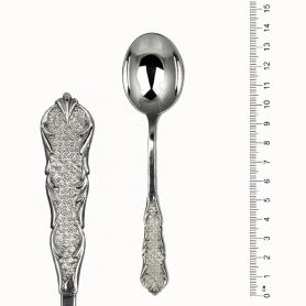 Серебряная чайная ложка. Серебро 925 пробы. арт. 925-2-2833