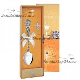 Набор серебра для крещения «Ангел-хранитель» в асс. арт. 925-5-1027НБ00806