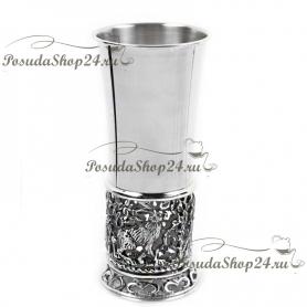 Серебряная стопка «ЗАЙЦЫ» арт. 925-5-425СТ00001(1)