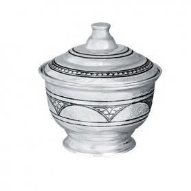 Сахарница серебряная. арт. 875-1604