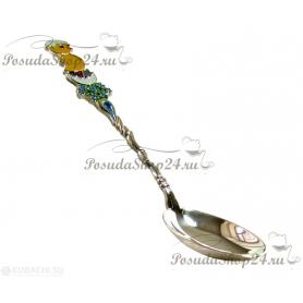Серебряная ложка «Цыпленок» арт. 925-2-2866