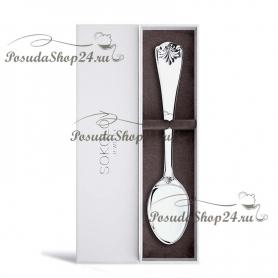"""Серебряная ложка чайная""""Antique"""". арт. 925-8-2301020020"""