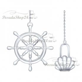 Серебряный ионизатор воды «ШТУРВАЛ». арт. 925-8-2301080005
