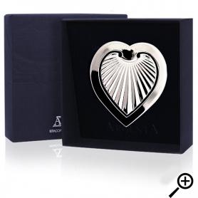Серебряная закладка «СЕРДЕЧКО». арт. 925-5-241ЗК22001