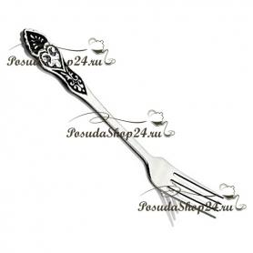 Серебряная десертная вилка «САМАРКАНД». арт. 875-2-2734(1)