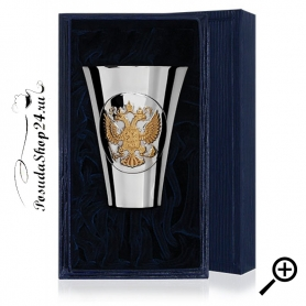 Серебрянаястопка«ГЕРБ РОССИИ» арт. 925-5-285СТ00802