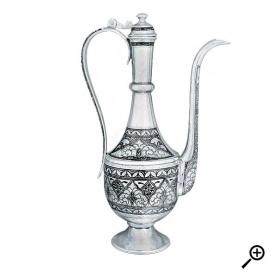 Серебряный оригинальный графин «УЛАН». арт. 875-2-3112