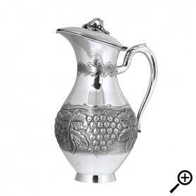 Cеребряный кувшин «ВИНОГРАД». арт. 875-2-3129(1)