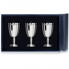 Набор из серебра «ТРИ ИМПЕРАТОРА». арт. 925-5-623НБ00801