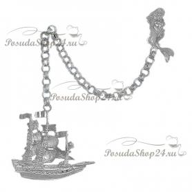 Серебряный ионизатор воды «КОРАБЛЬ» арт. 925-2-5303