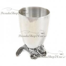 Набор из 2  серебряных стопок «НЕПТУН». арт. 925-5-618СТ00006