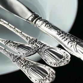 Столовый набор из серебра «ФАМИЛЬНЫЙ». арт.925-5-1258НБ01801