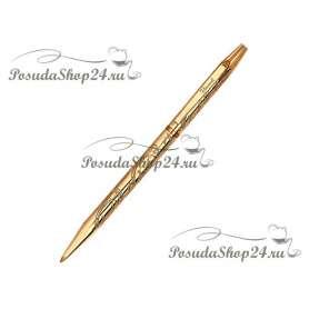 Серебряная ручка с позолотой.арт. 925-8-93250006