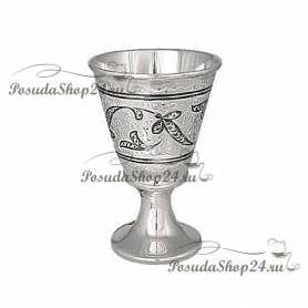 Серебряная рюмка «ГЛОРИЯ». арт. 875-2-0211
